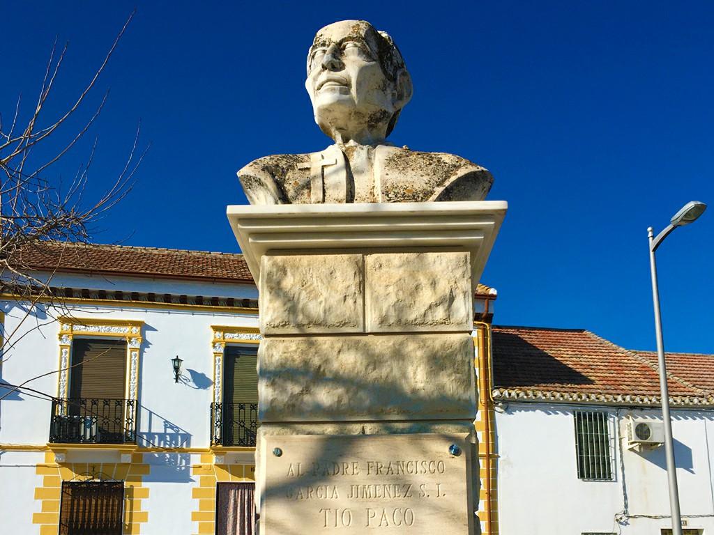 Busto del Tio Paco de Casanueva