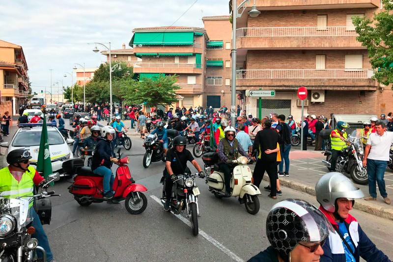 Concentración de Motos Clásicas Ciudad de Pinos Puente