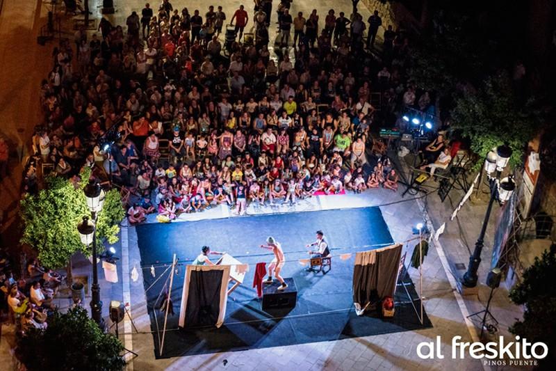 Festival de Teatro de calle Al Freskito