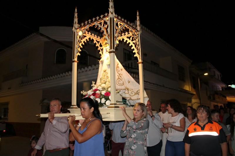 Fiestas en honor a la Virgen del Rosario