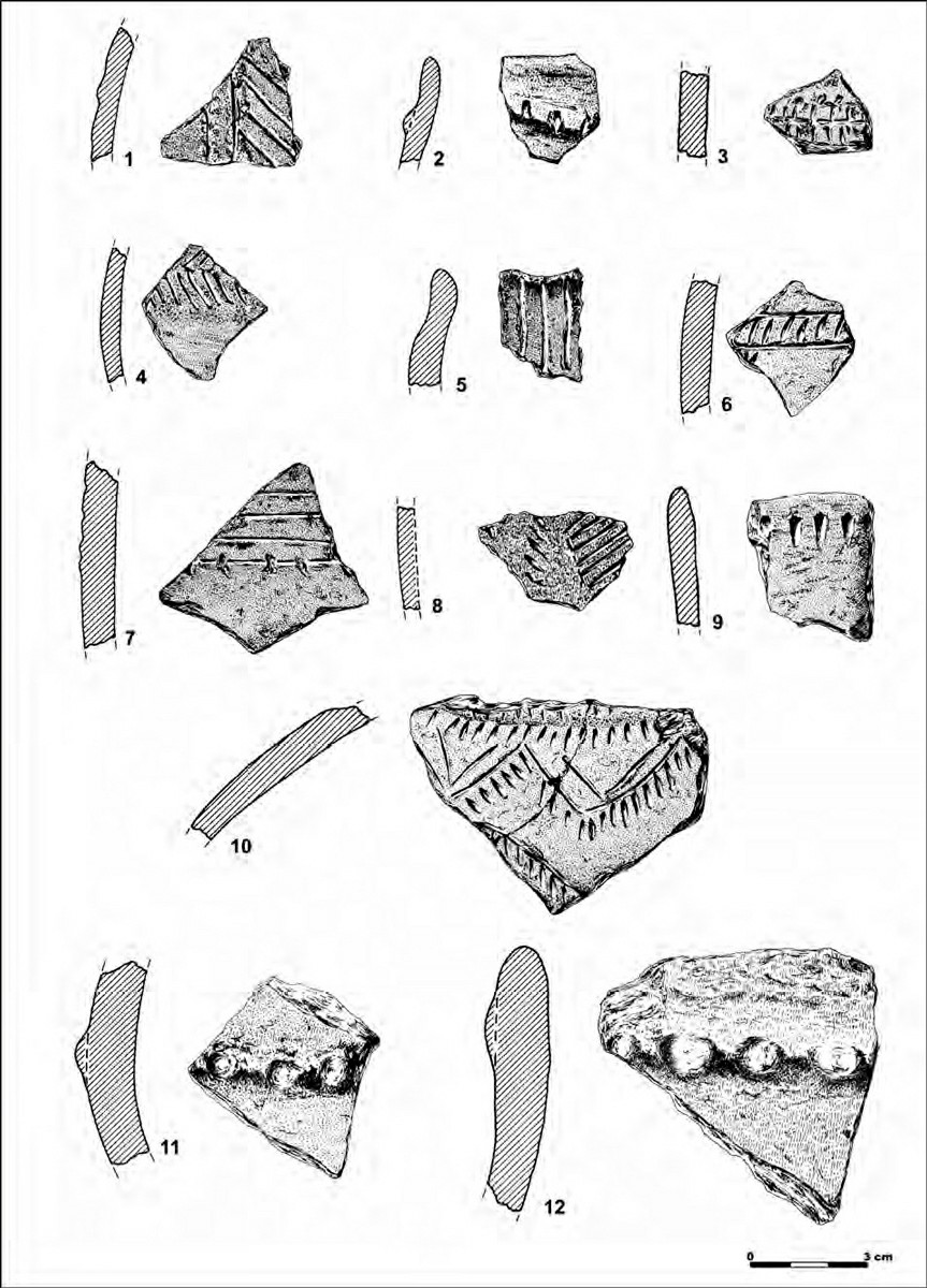 Material cerámico de La Molaina