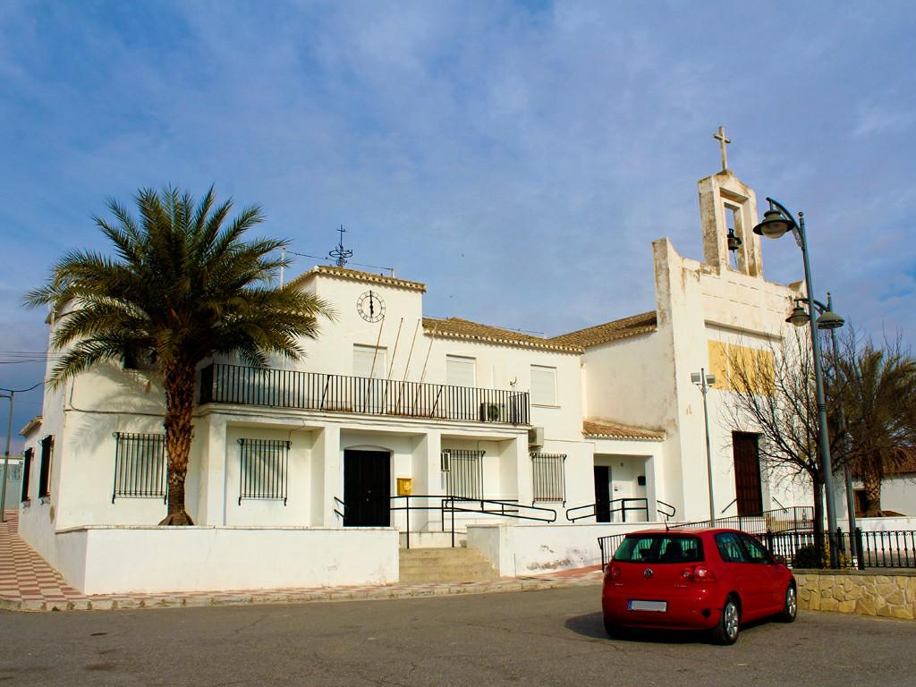 Plaza de la Iglesia de Fuensanta