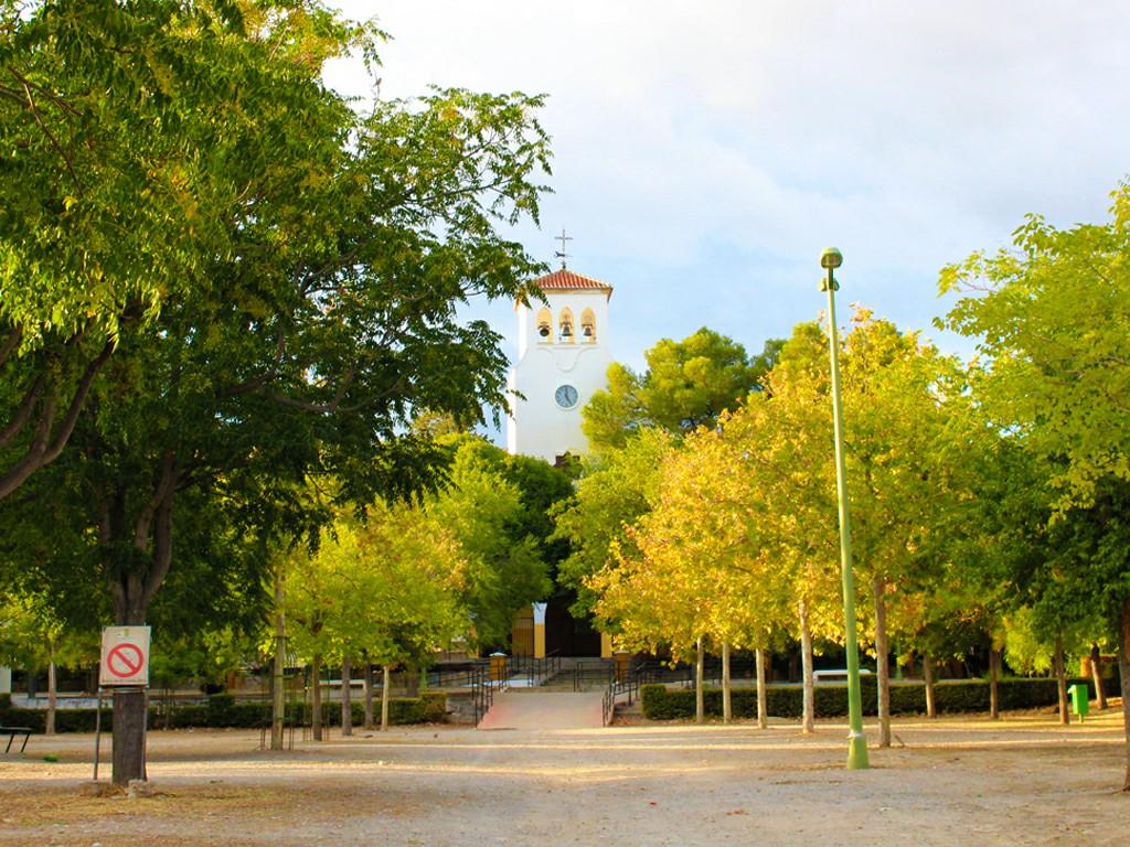 Plaza de la Iglesia de Zujaira