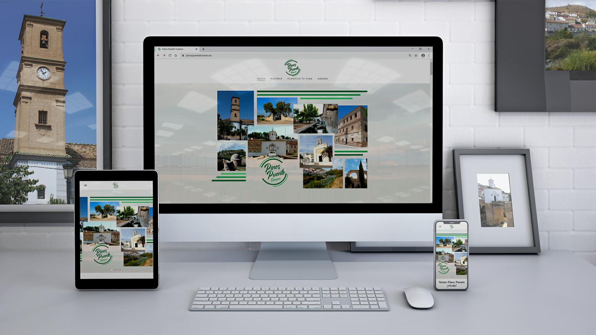 Presentación página web Pinos Puente Turismo